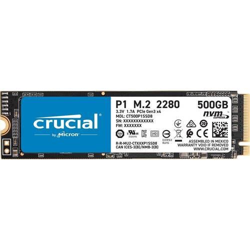 P1 CT500P1SSD8JP  P1シリーズ M.2 (Type 2280)対応 SSD