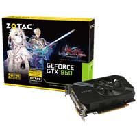 ZOTAC GeForce GTX 950 LORD of VERMILION ARENA (ZTGTX95-2GD5LOVA01)