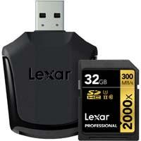Lexar LSD32GCRBJPR2000R Professional 2000x SDHC UHS-IIカード SD UHS-II リーダー付属:九州・博多・天神近辺でPCをパーツ買うならツクモ福岡店!