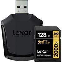 Lexar LSD128CRBJPR2000R Professional 2000x SDXC UHS-IIカード SD UHS-II リーダー付属:九州・博多・天神近辺でPCをパーツ買うならツクモ福岡店!