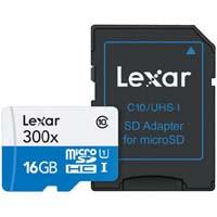 Lexar LSDMI16GBJPR300A High-Performance 300x microSDHCカード SD変換アダプタ付:九州・博多・天神近辺でPCをパーツ買うならツクモ福岡店!