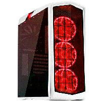 SilverStone SST-PM01W-RGB (ホワイトボディー、RGB LED + ウィンドウ)