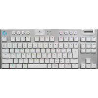 Logicool ロジクール G913-TKL-TCWH LIGHTSPEED Wireless RGB Mechanical Gaming Keyboard-Tactile White  USB無線&Bluetooth テンキーレス 日本語配列 薄型 メカニカルスイッチ(タクタイル)ホワイト  国内正規品 薄型テンキーレス Bluetooth / USB接続ワイヤレス メカニカルゲーミングキーボード ホワイト:関西・大阪・なんば・日本橋近辺でPCをパーツ買うならツクモ日本橋!