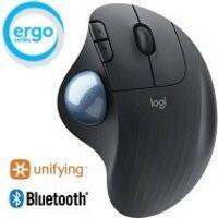 Logicool ロジクール ERGO M575 Wireless Trackball Mouse (グラファイト) Bluetooth/2.4GHz USB ワイヤレス トラックボール:関西・大阪・なんば・日本橋近辺でPCをパーツ買うならツクモ日本橋!