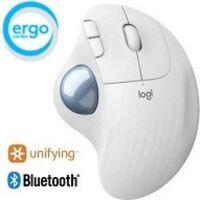 Logicool ロジクール ERGO M575 Wireless Trackball Mouse (オフホワイト) Bluetooth/2.4GHz USB ワイヤレス トラックボール:関西・大阪・なんば・日本橋近辺でPCをパーツ買うならツクモ日本橋!