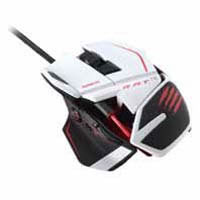 R.A.T. TE Tornament Edition Gaming Mouse(MC-RTE-WH ) 高性能レーザードップラーセンサー採用 ゲーミングマウス