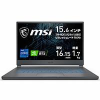 MSI エムエスアイ STEALTH-15M-A11UEK-211JP [ 15.6型 / フルHD / i7-11375H / RTX 3060 / 16GB RAM / 512GB SSD / Windows 10 Home / カーボングレイ ] Stealth 15M A11 リフレッシュレート144Hz 15.6型液晶搭載 ゲーミングノートPC:関西・大阪・なんば・日本橋近辺でPCをパーツ買うならツクモ日本橋!