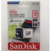 SDSQUAR-016G-GN6MA A1対応 microSDHCカード Class10 UHS-I 海外パッケージ