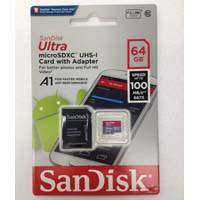 サンディスク SDSQUAR-064G-GN6MA A1対応 microSDXCカード Class10 UHS-I 海外パッケージ:九州・博多・天神近辺でPCをパーツ買うならツクモ福岡店!
