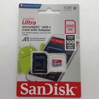 SDSQUAR-200G-GN6MA A1対応 microSDXCカード Class10 UHS-I 海外パッケージ
