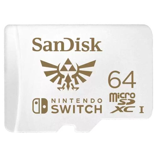 サンディスク SDSQXAT-064G-GNCZN 任天堂スイッチ用MicroSDXCカード  海外パッケージ:関西・大阪・なんば・日本橋近辺でPCをパーツ買うならツクモ日本橋!