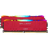Crucial BL2K8G32C16U4RL(レッド) PC4-25600 / DDR4-3200 / 16GB(8GB×2枚) Crucial Ballistix RGB ゲーミングメモリ:関西・大阪・なんば・日本橋近辺でPCをパーツ買うならツクモ日本橋!