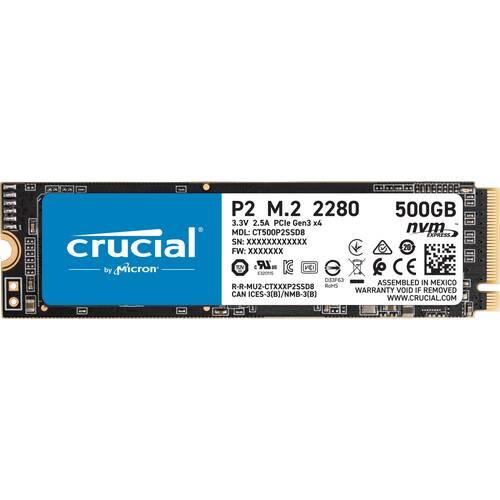 Crucial P2 SSD 500GB CT500P2SSD8JP M.2 2280 PCIe Gen3x4 NVMe SSD:関西・大阪・なんば・日本橋近辺でPCをパーツ買うならツクモ日本橋!
