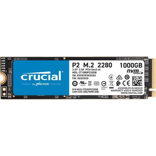 Crucial クルーシャル P2 CT1000P2SSD8JP [M.2 NVMe 内蔵SSD / 1TB / PCIe Gen3x4 / P2 シリーズ / 国内正規代理店品] PCIe Gen3 x4 M.2 NVMe SSD:博多・福岡・九州近辺でPCをパーツ買うならツクモ博多店!