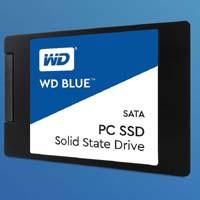 WD Blue 250GB(WDS250G1B0A) SLCキャッシュ技術採用のWD BLUEシリーズSSD!