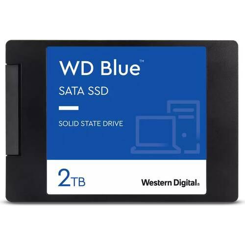 WDS200T2B0A WD Blue 3D NAND SATA SSD 500GB 2.5インチ