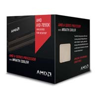 A10-7890K Black Edition with AMD Wraith Cooler (AD789KXDJCHBX) SoketFM2+で利用できるCPU!静音CPUクーラー標準付属!