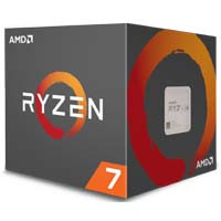 AMD Ryzen 7 1700 with Wraith Spire 95W cooler YD1700BBAEBOX Socket AM4対応 CPU:九州・博多・天神近辺でPCをパーツ買うならツクモ福岡店!