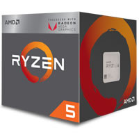 Ryzen 5 2400G with Wraith Stealth cooler (YD2400C5FBBOX) 《送料無料》