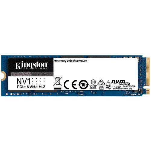 Kingston キングストン NV1 NVMe PCIe SSD SNVS1000G [M.2 NVMe 内蔵SSD / 1TB / PCIe Gen3x4 / NV1 シリーズ / 国内正規代理店品] PCIe Gen3.0 x4 M.2 SSD 2280 1TBモデル:博多・福岡・九州近辺でPCをパーツ買うならツクモ博多店!