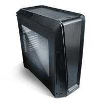 GX1200 7色LEDの120mmファンとイルミネーションを搭載したATX対応ミドルタワーPCケース