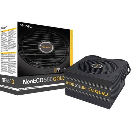 NeoECO NE550G 80PLUS GOLD認証取得 高効率高耐久電源ユニット