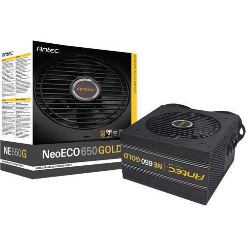 NeoECO NE650G 80PLUS GOLD認証取得 高効率高耐久電源ユニット