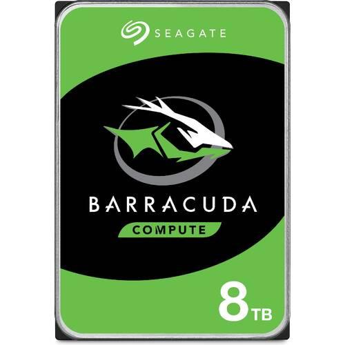 ST8000DM004 BarraCuda 3.5インチHDD SATA6Gb/s 2TBプラッタ/256MBキャッシュ