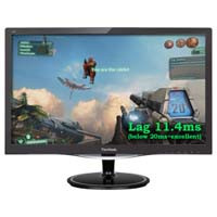 ViewSonic VX2257-mhd 応答速度1ms 22インチフル HDゲーム・エンターテイメントモニター:九州・博多・天神近辺でPCをパーツ買うならツクモ福岡店!