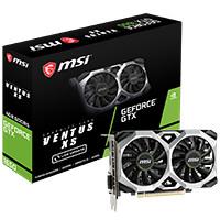 MSI GeForce GTX 1650 VENTUS XS 4G GeForce GTX 1650搭載 PCI Express x16(3.0)対応 グラフィックボード:関西・大阪・なんば・日本橋近辺でPCをパーツ買うならツクモ日本橋!