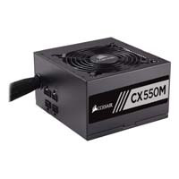 CORSAIR CX550M CP-9020102-JP 80PLUS BRONZE認証取得 ATX12V v2.4、EPS12V v2.92準拠 PC電源:九州・博多・天神近辺でPCをパーツ買うならツクモ福岡店!