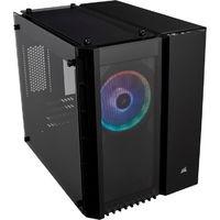 CORSAIR 280X RGB BLACK(CC-9011135-WW) RGBファン標準搭載 3枚の強化ガラスを採用したMicro-ATX対応キューブPCケース:九州・博多・天神近辺でPCをパーツ買うならツクモ福岡店!