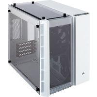 CORSAIR 280X TG WHITE(CC-9011136-WW) 3枚の強化ガラスを採用したMicro-ATX対応キューブPCケース:九州・博多・天神近辺でPCをパーツ買うならツクモ福岡店!