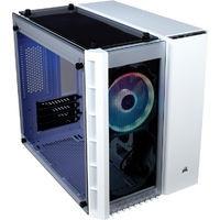 CORSAIR 280X RGB WHITE(CC-9011137-WW) RGBファン標準搭載 3枚の強化ガラスを採用したMicro-ATX対応キューブPCケース:九州・博多・天神近辺でPCをパーツ買うならツクモ福岡店!
