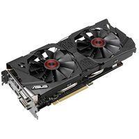 STRIX-GTX970-DC2OC-4GD5 NVIDIA GeForce GTX970搭載、GPU温度が上昇したときにのみファンが回る準ファンレスGTX 970ビデオカード。