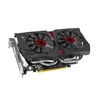 STRIX-GTX960-DC2OC-2GD5 ワットパフォーマンスの良さで人気のNVIDIA GeForce GTX960にASUSオリジナルクーラー「DirectCU II」を搭載した静音ビデオカード!