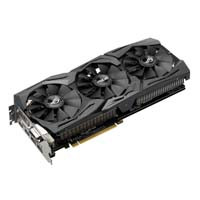 ROG STRIX-GTX1060-O6G-GAMING イルミネーション機能で鮮やかに光るR.O.G.シリーズの、ゲーマー向けGeForce GTX 1060搭載ビデオカード!