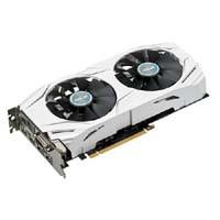 DUAL-GTX1070-O8G 過酷な環境にも耐える防塵ファンを搭載するホワイトカラーのGTX 1070ビデオカード