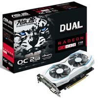 ASUS DUAL-RX460-O2G Radeon RX 460搭載 PCI Express x16(3.0)対応 グラフィックボード:九州・博多・天神近辺でPCをパーツ買うならツクモ福岡店!