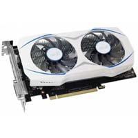 DUAL-GTX1050TI-4G 過酷な環境にも耐える防塵ファンを搭載するホワイトカラーのGTX 1050 Tiビデオカード