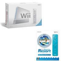 【クリックで詳細表示】期間限定 Wii 本体 シロ + Wii Sports Resort Wiiリモコンプラスパック セット
