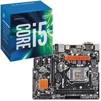 Core i5-6400 BOX + ASRock H110M-HDV セット