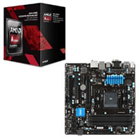 AMD A8-7670K とマザーボードのセット