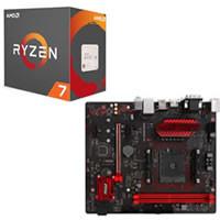 AMD Ryzen 7 1700X とマザーボードのセット