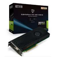 ELSA GD980-6GERTSE GeForce GTX 980 Ti搭載 PCI Express x16(3.0)対応 グラフィックボード:九州・博多・天神近辺でPCをパーツ買うならツクモ福岡店!