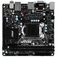 MSI H110I PRO Intel H110 Express搭載 LGA1151対応 Mini-ITXマザーボード:九州・博多・天神近辺でPCをパーツ買うならツクモ福岡店!