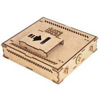 ASK Tech Ripple Wooden DIY Case NT-TX4000W