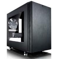 Fractal Design Define Nano S Window(FD-CA-DEF-NANO-S-BK-W) 透明アクリルのサイドパネルを採用したMini-ITX対応のミニタワー型PCケース:九州・博多・天神近辺でPCをパーツ買うならツクモ福岡店!
