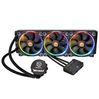Thermaltake Water 3.0 Riing RGB 360 (CL-W108-PL12SW-A) 256色発光に対応したファン搭載の水冷一体型CPUクーラー:九州・博多・天神近辺でPCをパーツ買うならツクモ福岡店!