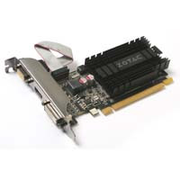 ZOTAC ZOTAC GT 710 2GB DDR3 LP (ZTGT710-2GD3LP001) GeForce GT 710を搭載 PCI-Express 2.0 x16 対応 グラフィックボード Lowprofile対応:九州・博多・天神近辺でPCをパーツ買うならツクモ福岡店!